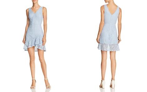 AQUA Ruffle-Hem Lace Dress - 100% Exclusive - Bloomingdale's_2