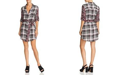 AQUA Mixed-Plaid Shirt Dress - 100% Exclusive - Bloomingdale's_2