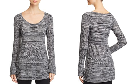 Heather B Marled Tunic Sweater - Bloomingdale's_2