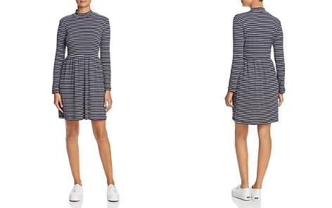 Vero Moda Seda Stripe Ribbed Knit Dress - Bloomingdale's_2