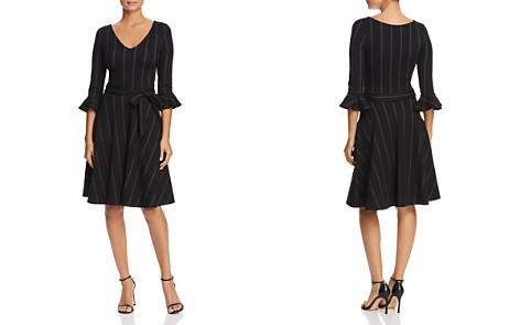 Leota Ilana Pinstripe Belted Dress - Bloomingdale's_2