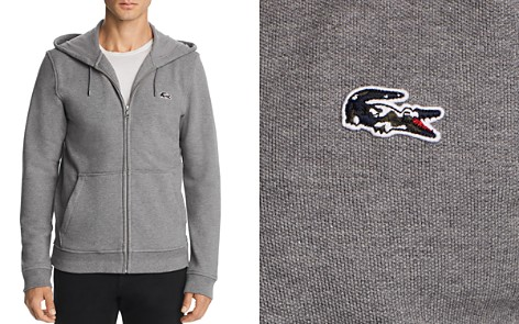 Lacoste Camouflage-Logo Hoodie - 100% Exclusive - Bloomingdale's_2