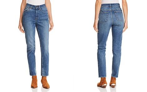 La Vie Rebecca Taylor Ines Kick Boot Jeans in Mid Tone Indigo - Bloomingdale's_2