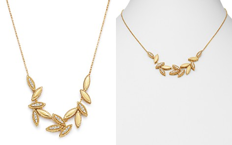 """Roberto Coin 18K Yellow Gold Diamond Petals Diamond Cluster Necklace, 16"""" - 100% Exclusive - Bloomingdale's_2"""