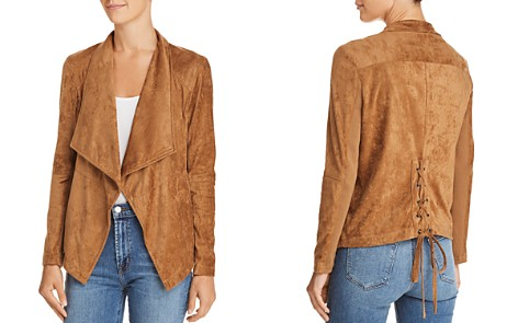 BB DAKOTA Earned It Lace-Up Faux Suede Jacket - Bloomingdale's_2