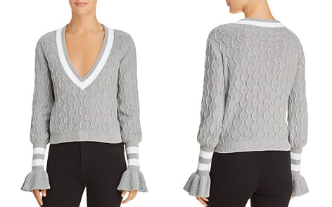 The Fifth Label Graduate Cable-Knit Cropped Sweater - Bloomingdale's_2