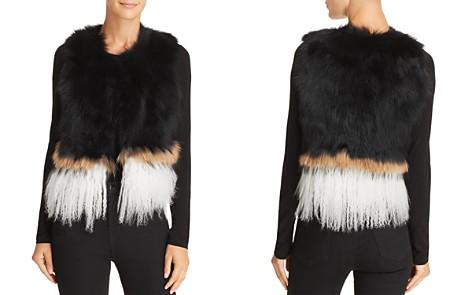 525 America Real Asiatic Raccoon Fur & Mongolian Lamb Vest - Bloomingdale's_2