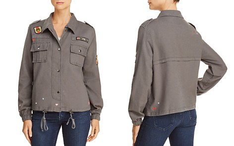 CHASER Embroidered Military Jacket - Bloomingdale's_2