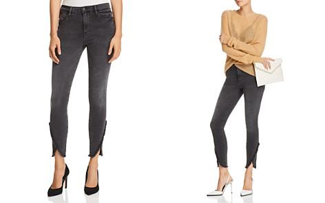 FRAME Le High Skinny Tulip-Hem Jeans in Quinby - Bloomingdale's_2