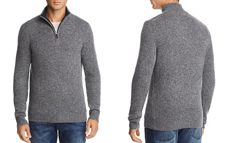 The Men's Store at Bloomingdale's Cashmere Quarter-Zip Sweater - 100% Exclusive_2
