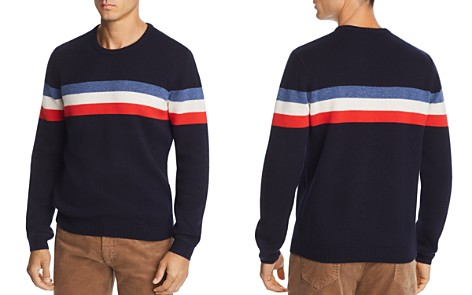 The Men's Store at Bloomingdale's Striped Merino Wool Sweater - 100% Exclusive_2