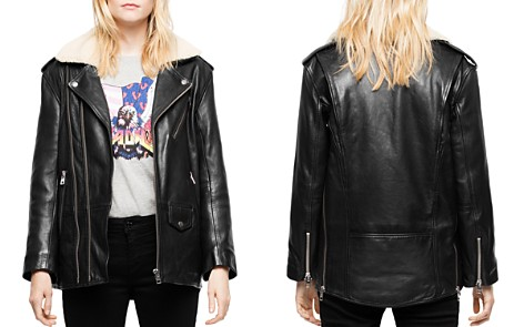 Zadig & Voltaire Leen Leather Moto Jacket - Bloomingdale's_2