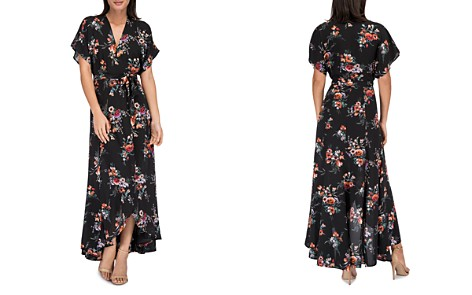 B Collection by Bobeau Wren Floral Wrap Maxi Dress - Bloomingdale's_2