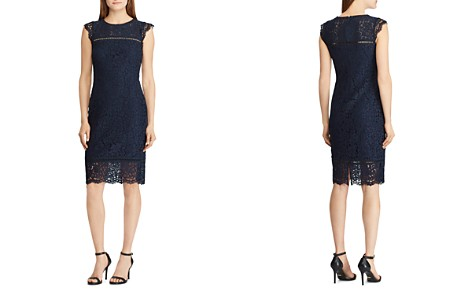 Lauren Ralph Lauren Lace Sheath Dress - Bloomingdale's_2