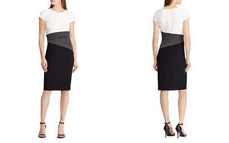 Lauren Ralph Lauren Petites Color Block Dress - Bloomingdale's_2