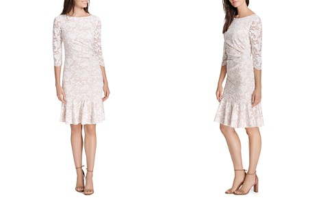 Eliza J Draped Lace Dress - Bloomingdale's_2
