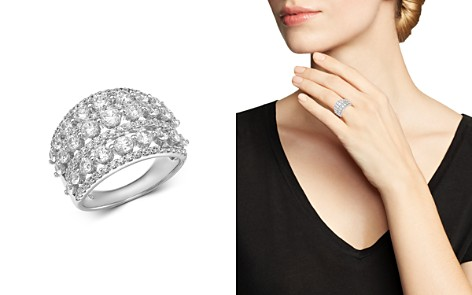 Bloomingdale's Diamond Statement Ring in 14K White Gold, 3.0 ct. t.w. - 100% Exclusive_2