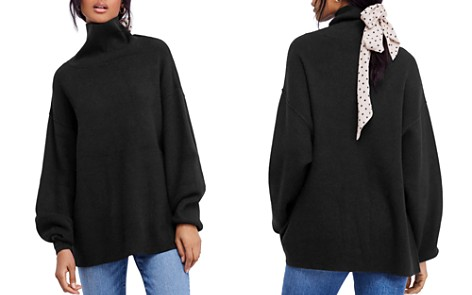 Free People Relaxed Turtleneck Sweater - Bloomingdale's_2