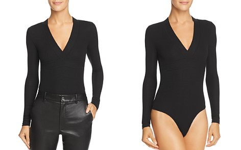 ATM Anthony Thomas Melillo Trapunto Bodysuit - Bloomingdale's_2