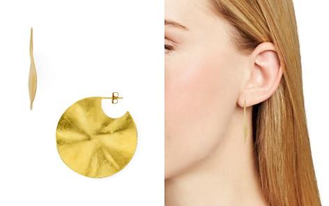 Chan Luu Medium Wavy Disc Drop Earrings - Bloomingdale's_2