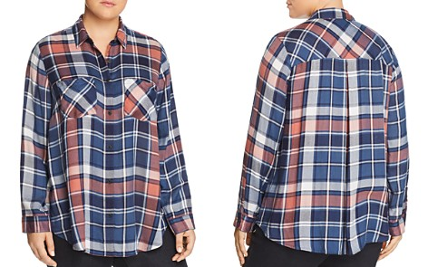 Lucky Brand Plus Plaid Shirt - Bloomingdale's_2