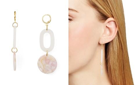 AQUA Lucite Link & Disc Drop Earrings - 100% Exclusive - Bloomingdale's_2