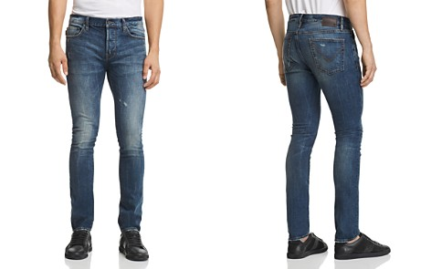 John Varvatos Star USA Bowery Slim Fit Jeans in Medium Blue - 100% Exclusive - Bloomingdale's_2