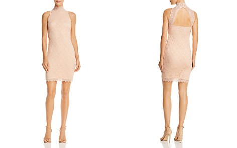 GUESS Vanessa Cutout Lace Body-Con Dress - Bloomingdale's_2