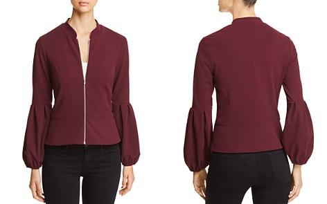 VINCE CAMUTO Bubble-Sleeve Zip Jacket - 100% Exclusive - Bloomingdale's_2