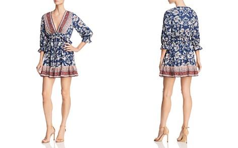 Lost + Wander Indigo Muse Floral-Print Mini Dress - Bloomingdale's_2