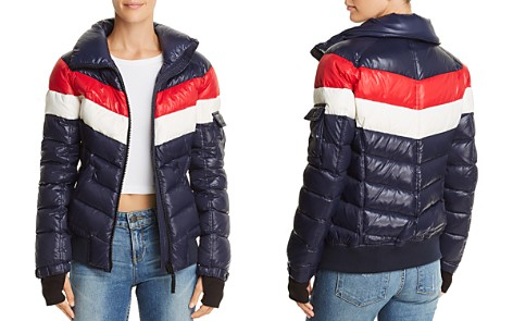 AQUA Retro Puffer Jacket - 100% Exclusive - Bloomingdale's_2