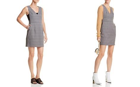AQUA Glen Plaid Jumper Dress - 100% Exclusive - Bloomingdale's_2