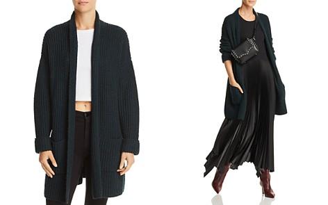AQUA Oversized Open-Front Cardigan - 100% Exclusive - Bloomingdale's_2