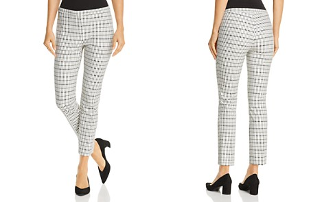 Theory Classic Printed Skinny Pants - Bloomingdale's_2