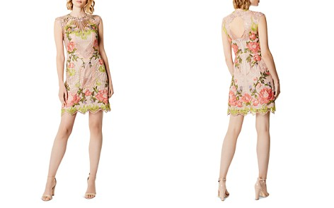 KAREN MILLEN Cutout Embroidered Lace Dress - Bloomingdale's_2