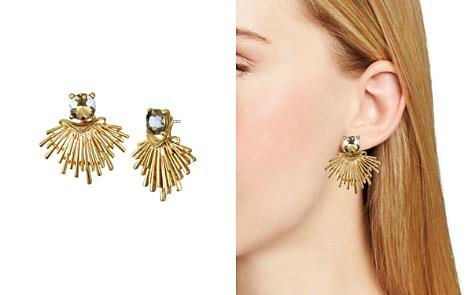 Badgley Mischka Fan Drop Earrings - Bloomingdale's_2