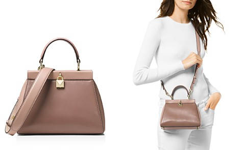MICHAEL Michael Kors Gramercy Frame Small Leather Satchel - Bloomingdale's_2