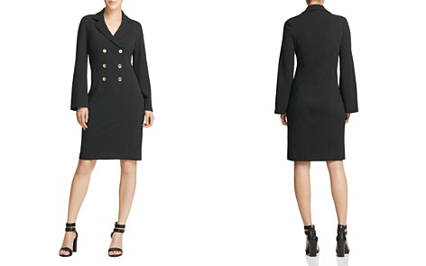 Donna Karan Double-Breasted Shirt Dress - Bloomingdale's_2