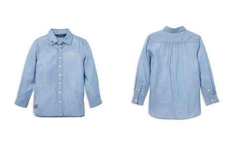 Polo Ralph Lauren Girls' Embroidered Shirt - Little Kid - Bloomingdale's_2