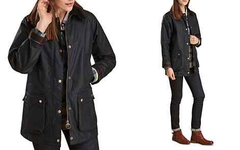 Barbour Acorn Waxed Cotton Jacket - Bloomingdale's_2