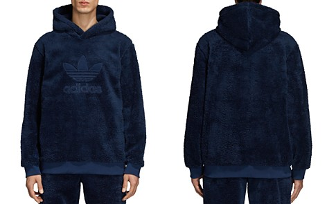 adidas Originals Oversized Fleece Hooded Sweatshirt - Bloomingdale's_2