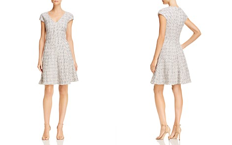 Rebecca Taylor Tweed Fit-and-Flare Dress - Bloomingdale's_2