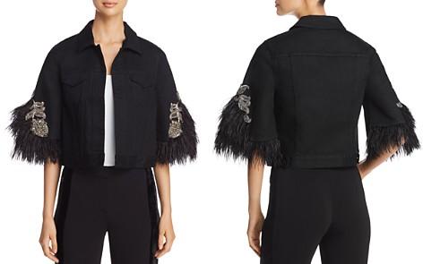 Kobi Halperin Chandra Embellished Denim Jacket - Bloomingdale's_2