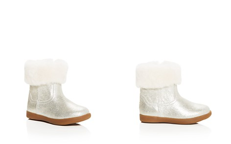 UGG® Girls' Jorie II Nubuck Leather & Shearling Booties - Walker, Toddler, Little Kid - Bloomingdale's_2