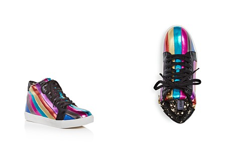 STEVE MADDEN Girls' Spirit Striped High Top Sneakers - Little Kid, Big Kid - Bloomingdale's_2