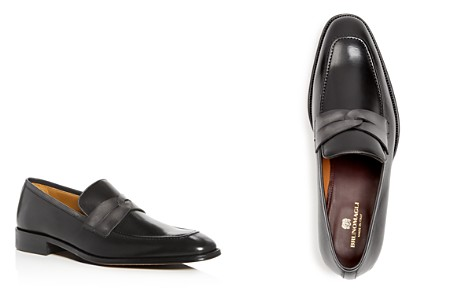 Bruno Magli Men's Brera Leather Apron Toe Loafers - 100% Exclusive - Bloomingdale's_2