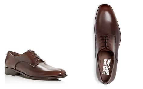 Salvatore Ferragamo Men's Daniel Everton Leather Plain Toe Oxfords - Bloomingdale's_2