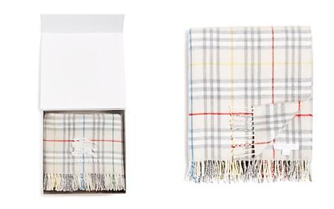 Burberry Vintage Check Wool Baby Blanket - Bloomingdale's_2