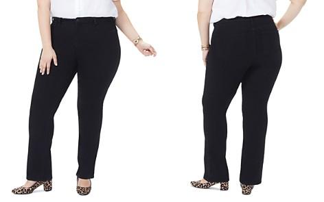 NYDJ Plus Barbara Bootcut Jeans in Black - Bloomingdale's_2