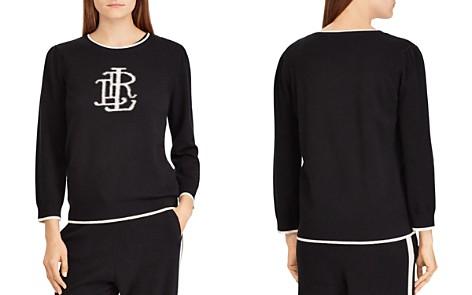 Lauren Ralph Lauren Cashmere Monogram Sweater - 100% Exclusive - Bloomingdale's_2